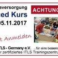 ITLS Advanced Provider Kurs | Mühlhausen/Thüringen | November 04, 2017 - November 05, 2017