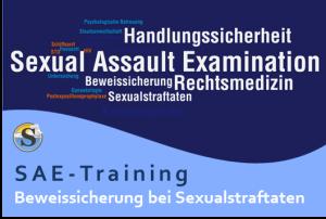 SAE-Training - Beweissicherung nach Sexualstraftaten