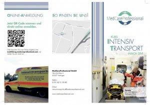 Intensivtransportkurs nach DIVI   Hattingen   April 07, 2017 - April 09, 2017